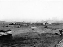 Greek warships 1912-10-05