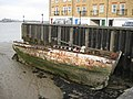 Greenhithe, Former wharf and River Thames foreshore - geograph.org.uk - 718976.jpg