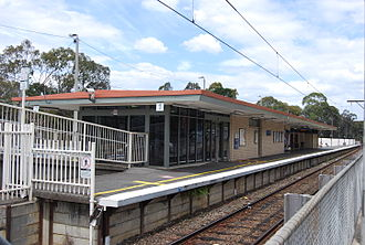 Greensborough, Victoria - Greensborough Railway Station