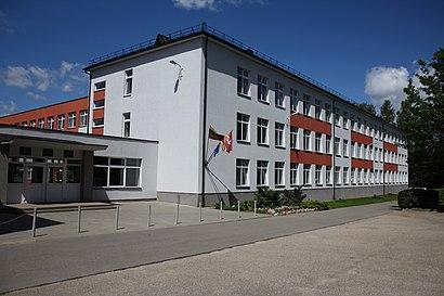 Kaip pateikti į Grigiškių Vidurinė Mokykla viešuoju transportu - Apie vietovę