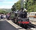 Grosmont station waiting departure - geograph.org.uk - 1663718.jpg