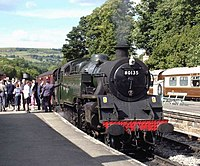 Grosmont station waiting departure - geograph.org.uk - 1663718.jpg