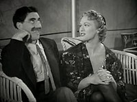 Groucho Marx-Eve Arden in At the Circus trailer.jpg