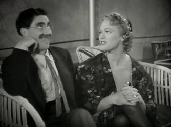 Groucho Marx-Eve Arden in At the Circus trailer