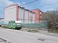 Grundschule, Sporthalle von Szigetvári Straße, 2021 Budafok.jpg