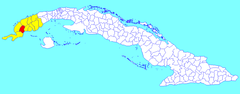 Guane (Cuban municipal map).png