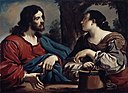 Guercino (Giovanni Francesco Barbieri) - Christ and the Woman of Samaria - 26.108 - Detroit Institute of Arts.jpg