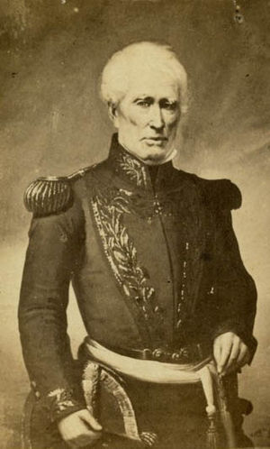 Argentine Navy - Admiral William Brown, founder of the Argentine Navy.