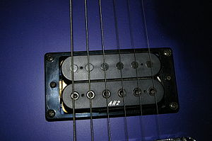 "Humbucker - ""Open Coil"" (uncovered) humbucker pickup"