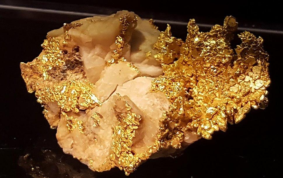 Gull i kvarts
