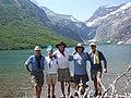 Gunsight Pass from Gunsight Lake Campground, July 22, 2007 - panoramio.jpg