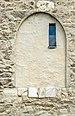 Gurk Domplatz 1 Dom N-Turm W-Fassade zugemauerte Tür 30092020 8113.jpg