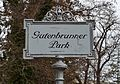 Gutenbrunner Park sign, Baden.jpg