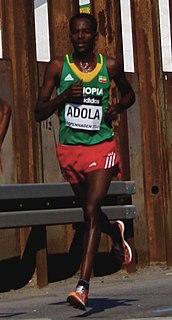 Guye Adola Ethiopian long-distance runner