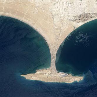 Gwadar - Aerial vide of the Gwadar peninsula