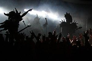 Gwar - Gwar in concert in Edmonton