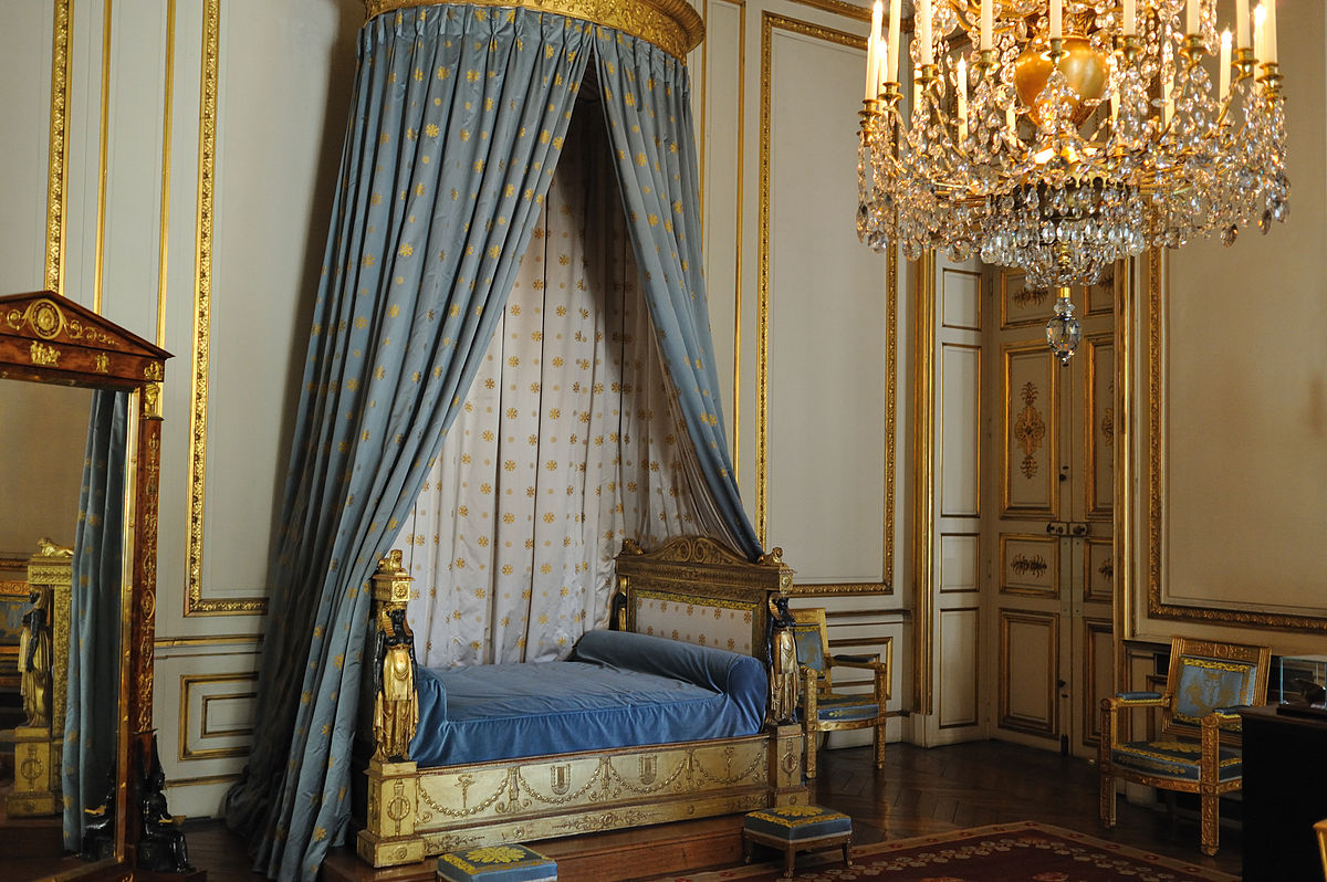 Gold Rococo Bed Frame