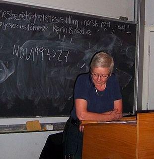 Karin Maria Bruzelius