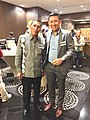 H.M Yusuf (Tasikmalaya Mayor) with Tirta Bambangwirawan at German Conference.jpg