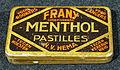 HEMA Frany Menthol pastilles blikje.JPG