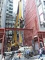 HK 上環 Sheung Wan 永樂街 Wing Lok Street construction site December 2018 SSG 01.jpg