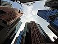 HK CWB 銅鑼灣 Causeway Bay 邊寧頓街 Pennington Street 伊榮街 Irving Street sky view Oct 2019 SS2 05.jpg
