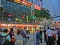 HK Causeway Bay 百德新街 Paterson Street Taxi stand view Chow Tai Fook shop sign Mar-2013.JPG