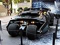 HK Causeway Bay 羅素街 Russell Street Times Square 蝙蝠俠 Batman automobile 展覽 exhibition 蝙蝠車 n visitor July-2014.jpg