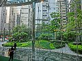 HK Central The Center 中環中心 park Sep-2014 lobby hall interior.JPG