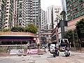 HK SW 上環 Sheung Wan 皇后大道西 Queen's Road West 帝后華庭 Queen's Terrace 皇后街 Queen Street banners April 2020 SS2 03.jpg