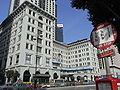 HK TST Salisbury Road Peninsula Hotel facade KMB bus stop sign HKCC 香港文化中心 Cultural Centre.JPG