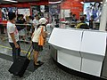 HK Yau Ma Tei MTR Station service counter Visitors Oct-2012.JPG