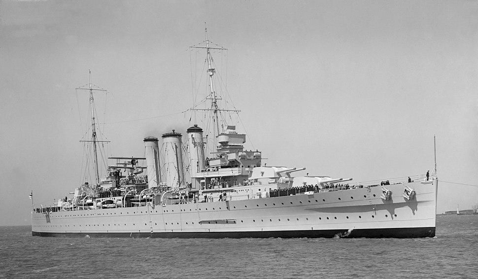 HMAS Australia Oct 1937 SLV