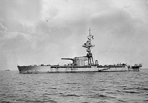 Marshal Ney-class monitor - Marshal Ney underway August 26, 1915