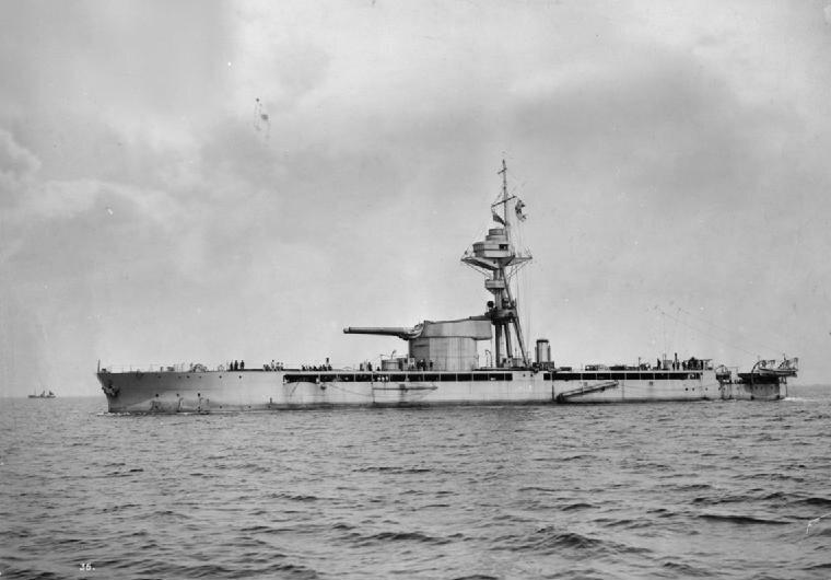 HMSMarshalNeyUnderwayPortsideView1915
