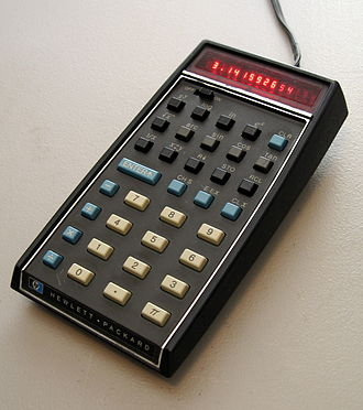 HP-35 - An HP-35 pocket calculator