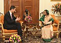 HSHH Prince Alois of Liechtenstein called on the President, Smt. Pratibha Devisingh Patil, at Rashtrapati Bhavan, in New Delhi on November 15, 2010 (1).jpg