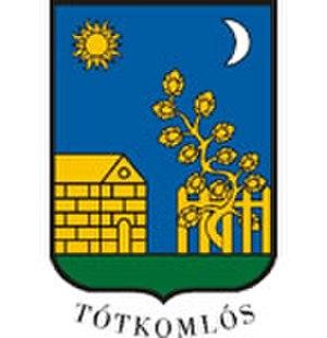 Tótkomlós - Image: HUN Tótkomlós COA