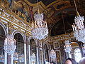 Hall of Mirrors, Palace of Versailles chandeliers.JPG