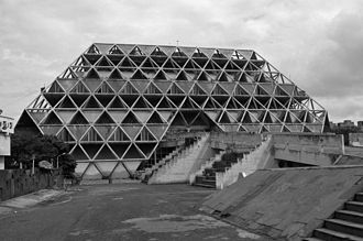 Raj Rewal - Hall of Nations, Pragati Maidan