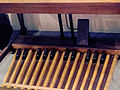 Hammond B3 25-note pedalboard, Museum of Making Music.jpg
