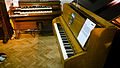 Hammond RT-3 & Challen piano, Abbey Road Studios, 80th Anniversary, March 9, 2012.jpg