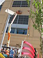 Hangin' up the Consol Energy logo (4917413323).jpg