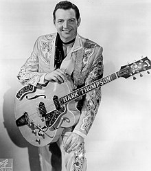 Hank Thompson (musician) - Wikipedia Buddy Holly Electric Guitar