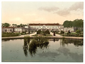 Hanover - Schloss Herrenhausen, 1895