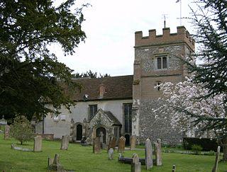Harefield village in the United Kingdom