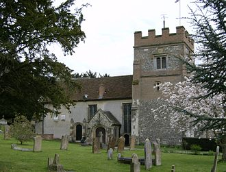 Harefield - Image: Harefield Church