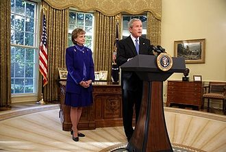 Harriet Miers - President George W. Bush nominates Harriet Miers on October 3, 2005.