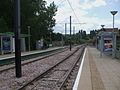 Harrington Road tramstop look south.JPG