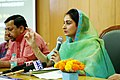 Harsimrat Kaur Badal addressing at the inauguration of the Incubation Centre for milk and dairy products and Food Testing Laboratory, at the National Institute of Food Technology Entrepreneurship and Management, in New Delhi.JPG